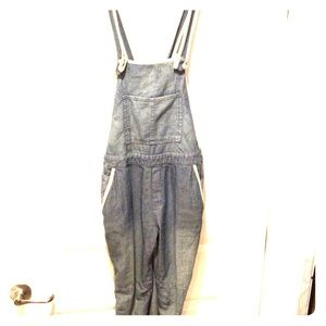Free People Fennel Overalls NWT Sz 27